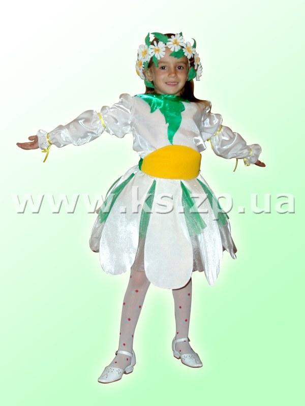 Новогодний костюм ромашки своими руками