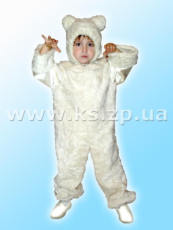 Костюм белого медведя для мальчика своими руками