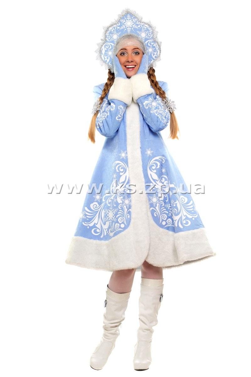 Сшить костюм снегурочки своими руками фото