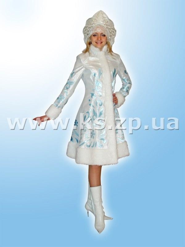 Наряд снегурочки для взрослых своими руками 4