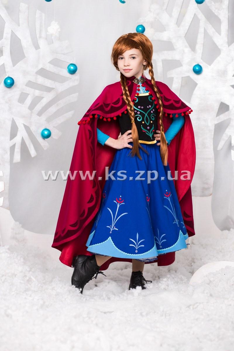 Анна холодное сердце костюм выкройка фото 79